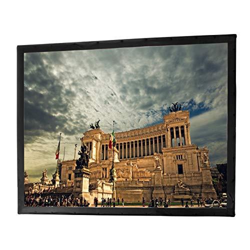 celexon Home Cinema y Business Pantalla Tela para retroproyección Pantalla de Repuesto Adecuada para Marcos Plegables Mobil Expert - 366 x 274 cm - 4:3