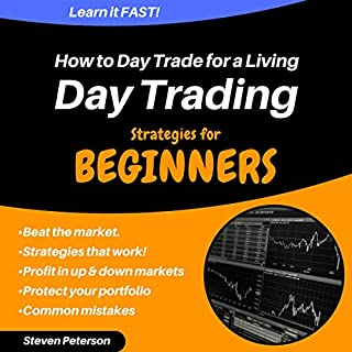 Day Trading Strategies for Beginners: How to Day Trade for a Living audiobook cover art