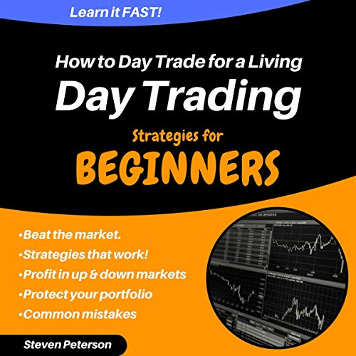 『Day Trading Strategies for Beginners: How to Day Trade for a Living』のカバーアート