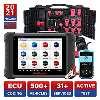 Autel MaxiSys MS906 Diagnostic Scanner with Free Battery Tester AB101 2020 New Model with 30 Special Functions Active Test Key Fob Programming ECU Coding Upgraded of MaxiDAS DS808 MP808