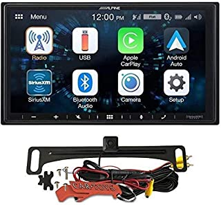 """$339 » Alpine iLX-W650 7"""" Mechless Bluetooth Car Receiver Deck and Voxx HD Wide Angle Backup Camera Bundle. Android and iPhone In..."""