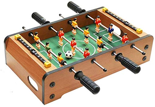 Daily Equipment Foosball Table for Toddlers Easy to Assemble Arcade Table Games for Children 4 Metal Rods and Handles 13.6×8.5×3.1in