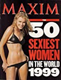 MAXIM 50 SEXIEST WOMEN IN THE WORLD 1999 ANNA KOURNIKOVA BAI LING KATE MOSS AND MORE!