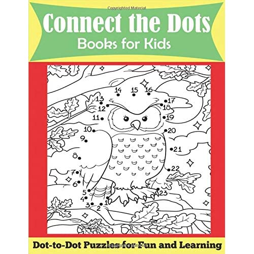 27062712408 Connect the Dots Books for Kids  Ages 4-8