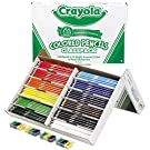 Crayola Colored Pencils, Bulk Classpack, Classroom Supplies, 12 Assorted Colors, 240 Count, Standard