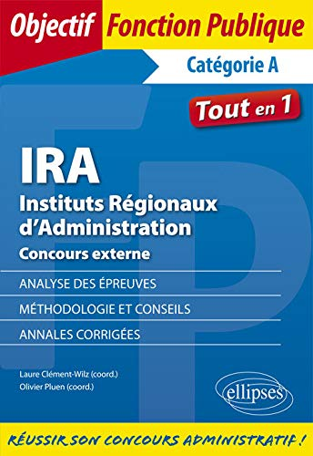 Ira Instituts Regionaux Dadministration Concours Externe
