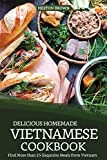 Delicious Homemade Vietnamese Cookbook: Find More than 25 Exquisite Meals from Vietnam