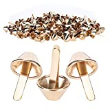 Cone Hardware Fitting Flat Feet Studs Bags for Belts Decoration Shoes