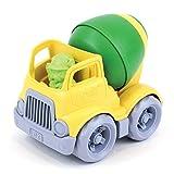 Green Toys Mixer Construction Truck Green/Yellow, 5.75x7.5x5.6