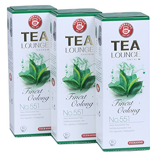 Teekanne Tealounge Kapseln - Finest Oolong No. 551 Grüner Tee (3x8 Kapseln)