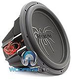Soundstream 2600W Peak (1300W RMS) 15' Tarantula Series Dual 4-Ohm Car Subwoofer