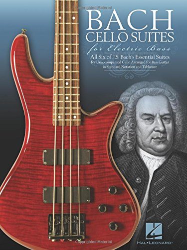 Bach Cello Suites for Electric Bass (BASSE)