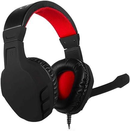 YUNYIN Cuffie, Cuffie da Gioco Auricolari per PC/Laptop/Xbox PS4 / Smartphone! Comode Cuffie di Memoria, Cuffie Stereo con riduzione del Rumore del subwoofer-BlackRed - Trova i prezzi più bassi