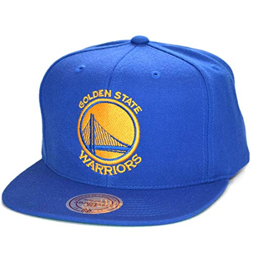 Mitchell & Ness Gorras Golden State Warriors Wool Solid Royal Snapback