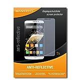 2 x SWIDO® Protector de pantalla Zopo Speed 7 Plus Protectores de pantalla de película 'AntiReflex' antideslumbrante