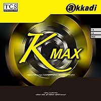 アカディ(akkadi) 卓球 ラバー Kマックス AR003 ブラック(AB) MAX