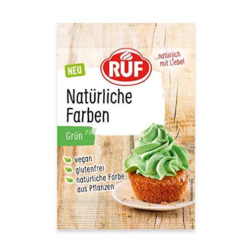 RUF Natürliche Lebensmittelfarbe grün, 8 g