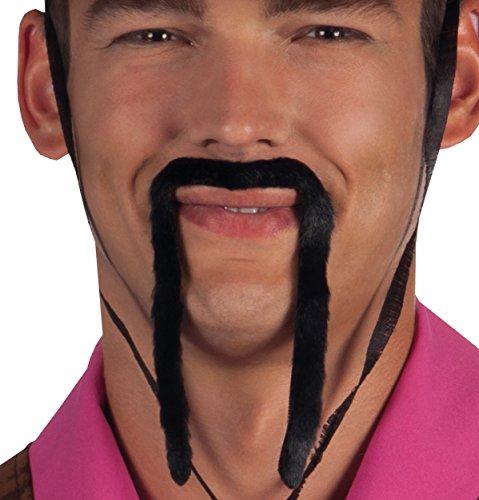 Boland 01808 – Moustache Chinese Noir Taille Unique