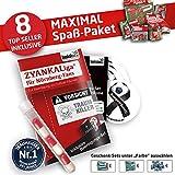 Nürnberg Handtuch ist jetzt das MAXIMAL SPAß Paket für FCN Fans by Ligakakao.de duschtuch Emblem Logo Soft one Size Baumwolle weich saugstark rot-weiß