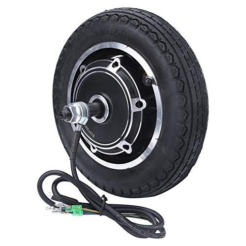 Keenso Motor de Cubo de Rueda de 10 Pulgadas, Neumático de 24/36/48 V 350 W para Bicicletas eléctricas de Motor, Scooter eléctrico