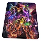 The Avengers Mouse Mat Pad Unique Custom Mousepad Computer Keyboard Stitched Edges Large Gaming Mouse Pats Office, Ideal for Desk Cover PC and Laptop (Avenger)