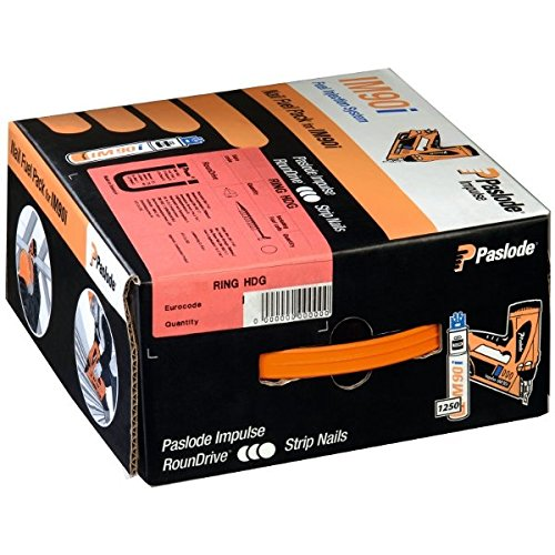 IMPULSE PACKS F�R IM90i - Galv plus (gerillt)+Gas - 2,8 x 63mm