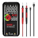 Viccilley S20 9999 Cuenta, multímetro Digital de radiación electromagnética, probador de diodos de Resistencia de Rango automático