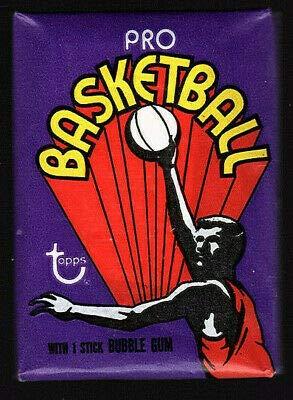 1972 Topps Basketball Sealed Pack Julius Erving Rookie Year
