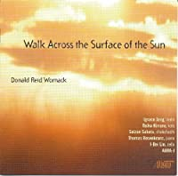 Donald Reid Womack: Walk Across the Surface of the Sun by Aura-J (2010-04-13)