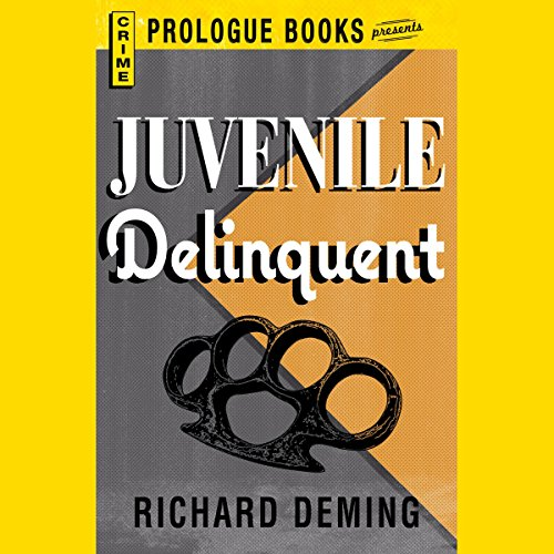 Juvenile Delinquent audiobook cover art