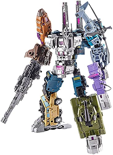 RSVPhandcrafted Transformer Toys G1 PT-05 Bruticus 5IN1 Action Figure Oversize Robot Toys Educational Robot Cars Toy for Children Boys & Girls Gifts Transformers Optimus Prime toys studio series