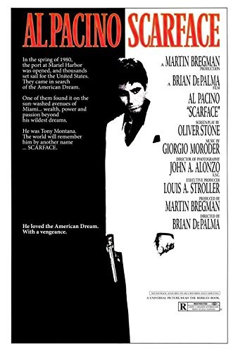 Scarface POSTER Movie (27 x 40 Inches - 69cm x 102cm) (1983)