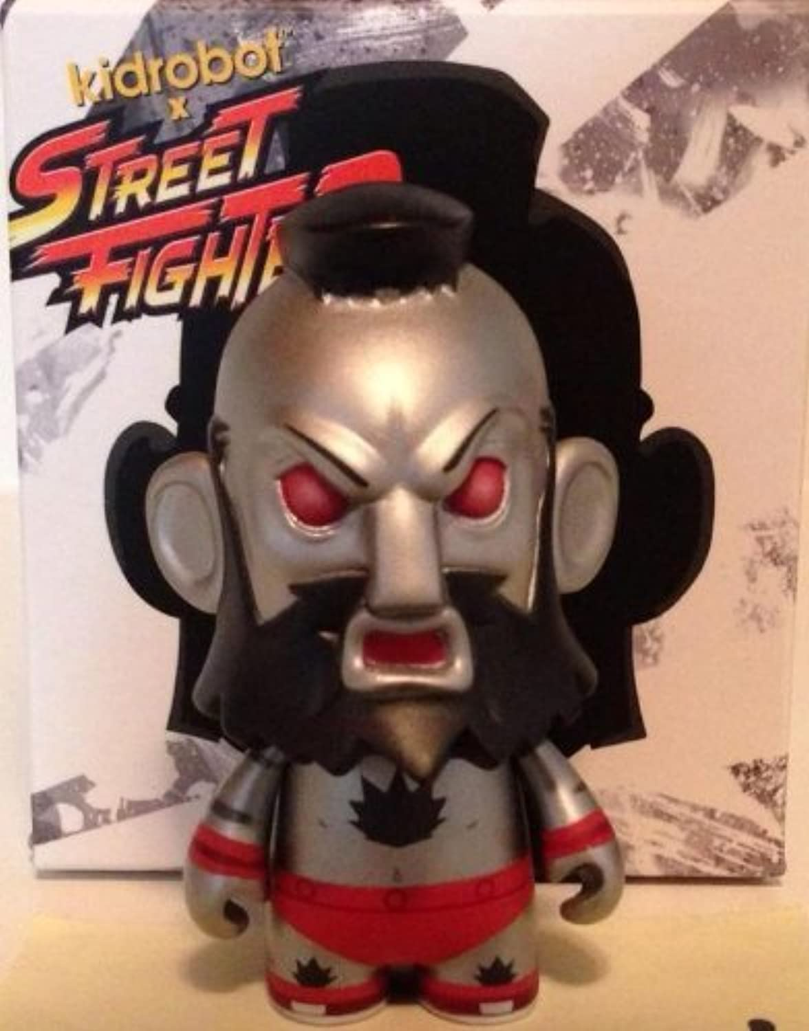 2013 Exclusive San Diego ComicCon Kidrobot x Street Fighter Mecha Zangief Figure by Street Fighter