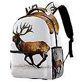 Sprint Elk Mochila de viaje para ordenador portátil, casual, duradera, mochila para hombres,...