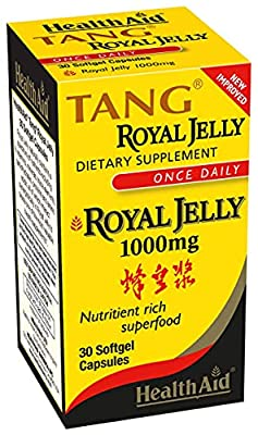 Health Aid, Tang Royal Jelly 1000mg, 30 Softgel Capsules