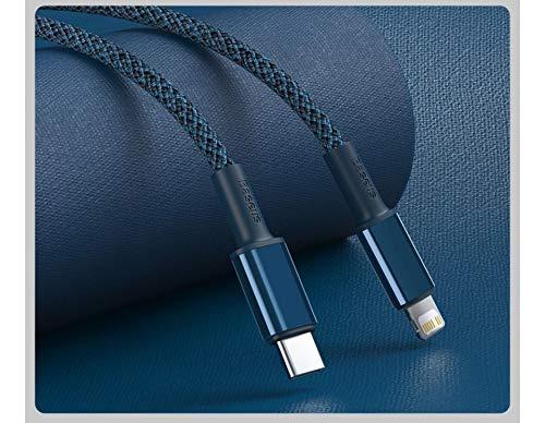Cabo Para iPhone 12 X Xr 8 Usb C Lightining Original Baseus