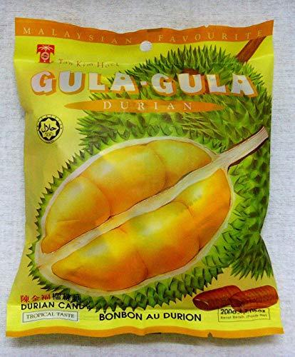 Malaysischer berühmter Tan Kim Hock Durian Candy Tropical Geschmack 150 g