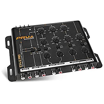 PRV AUDIO EX4.6 PRO 4 Way Crossover Car Audio 4 in 6 RCA Output 9 Volts RMS Electronic Crossover