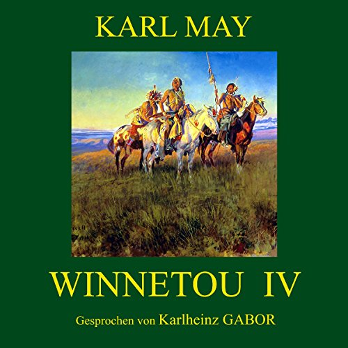 Winnetou IV audiobook cover art