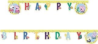 Peppa Pig Happy Birthday Paper Garland