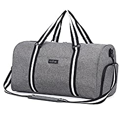 Apollo Walker Water Resistant Duffel Bag with Shoe Compartment