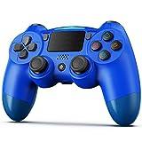 Controlador inalámbrico para PS4, BestOff para PlayStation 4/Pro/Slim, panel táctil con doble vibración, Turbo y conector de audio para PS4