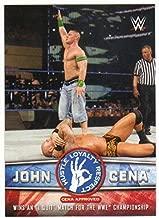 2017 Topps WWE John Cena Tribute #18 John Cena Wins an I Quit Match for the WWE Championship