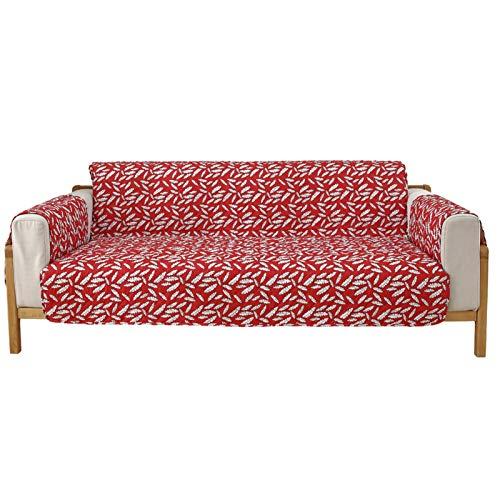 GHKT Tapa de sofá de Tela Spandex Máquina Lavable Individual Doble Triple Universal sofá Universal Cubierta Impresa Mascota sofá Cubierta Cubierta para la mayoría de los Tipos de sofás