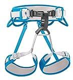 PETZL Corax Climbing Harness, Light Blue, Size 1