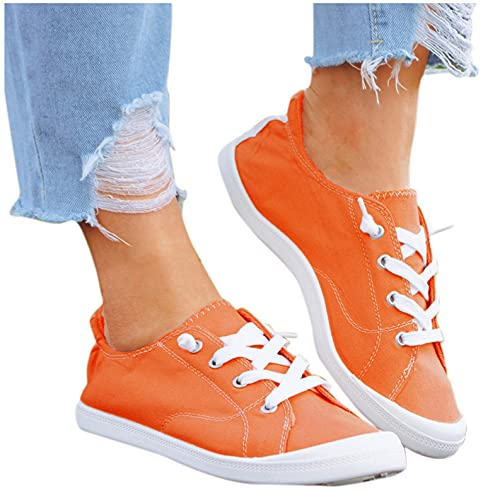 AODONG Walking Shoes for Women Slip On Shoes Womens Fashion Casual Sneakers Shoes Lightweight Running Shoes