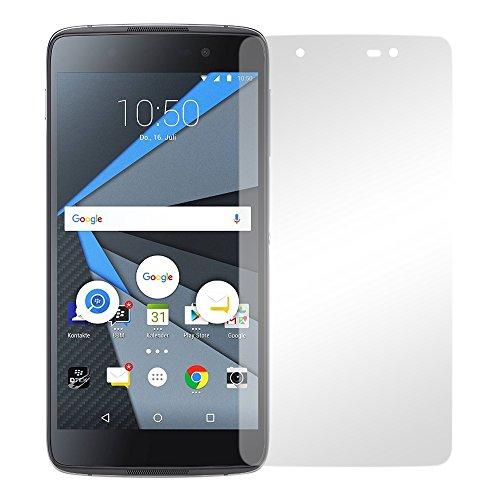 Slabo 2 x Bildschirmfolie für BlackBerry DTEK50 Bildschirmschutzfolie Zubehör Crystal Clear KLAR