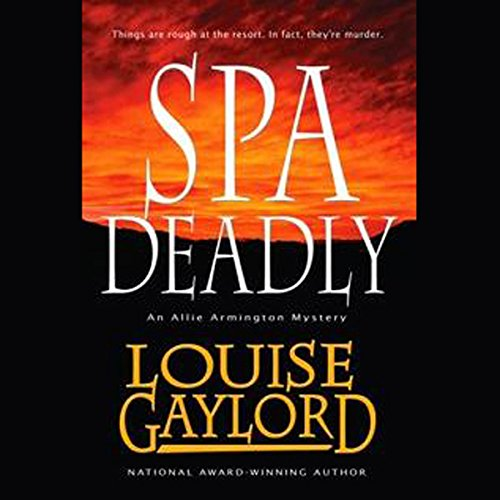 Spa Deadly audiobook cover art