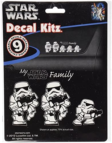 Star wars family decals