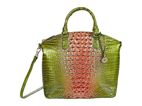 Brahmin Ombre Melbourne Large Duxbury Satchel Watermelon One Size